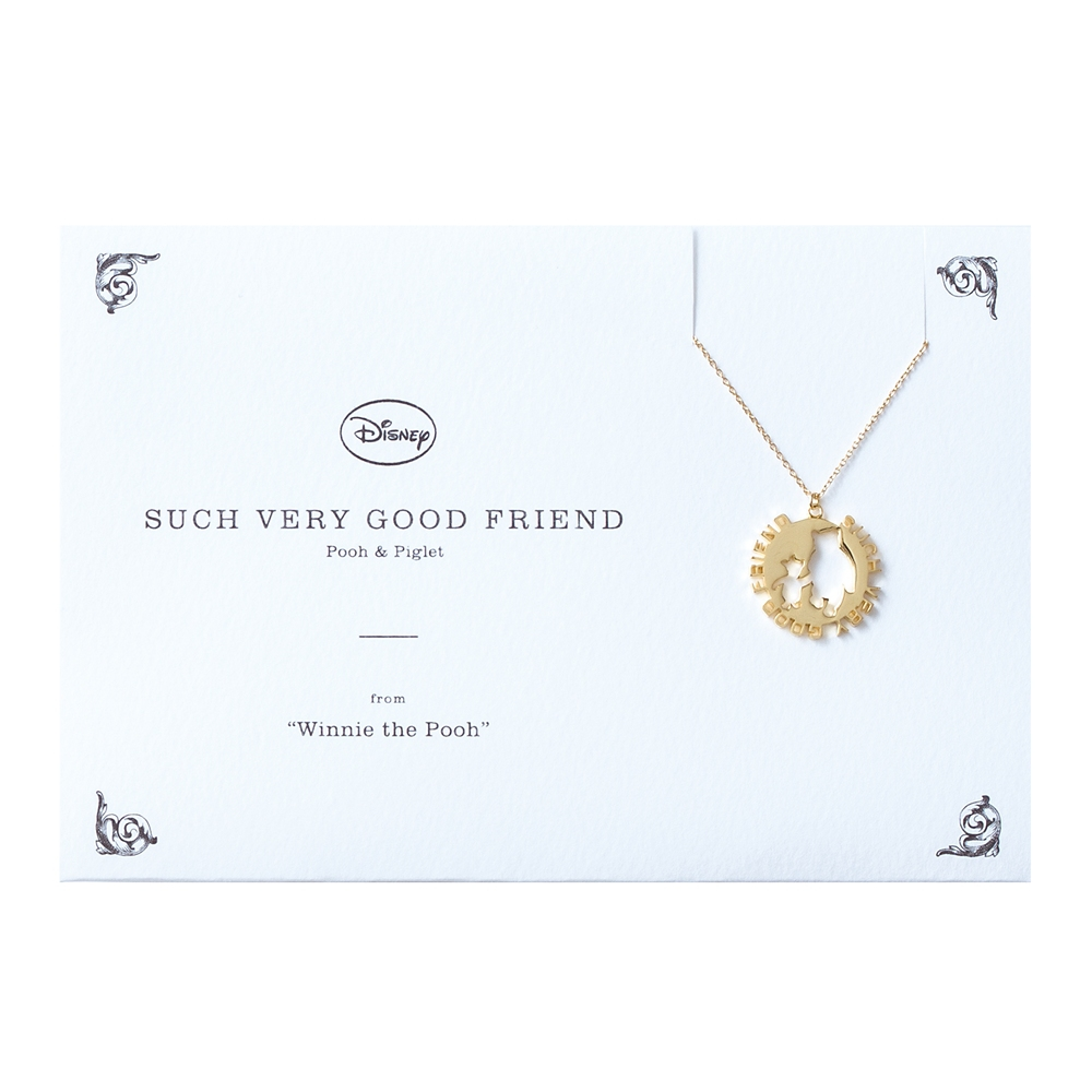 【5108】プーさん&ピグレット ネックレス SUCH VERY GOOD FRIEND
