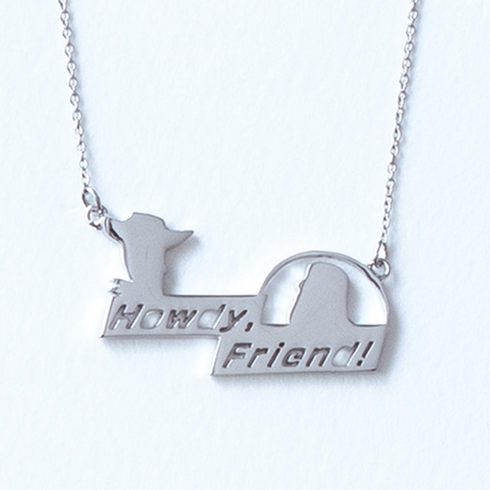 【5108】ウッディ&バズ・ライトイヤー ネックレス Howdy Friend!