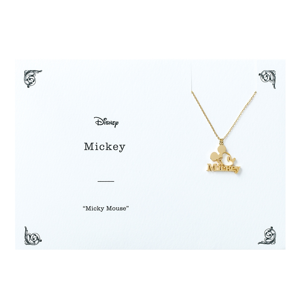 Mickey ネックレス ミッキーマウス