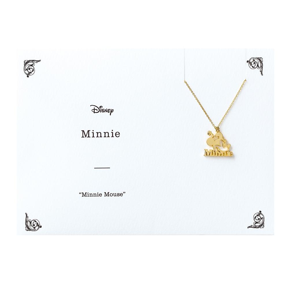 Minnie ネックレス ミニーマウス