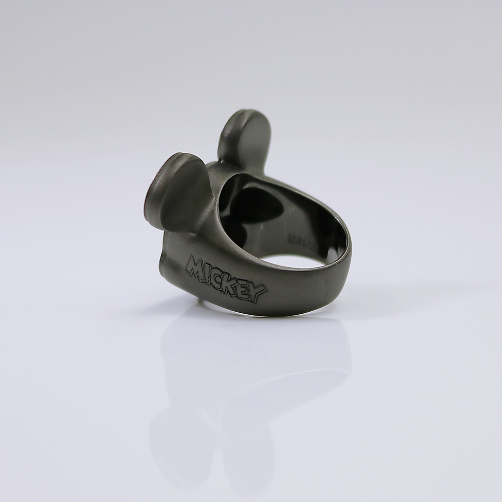 MICKEY MOUSE STAMP FACE RING13号【受注商品】
