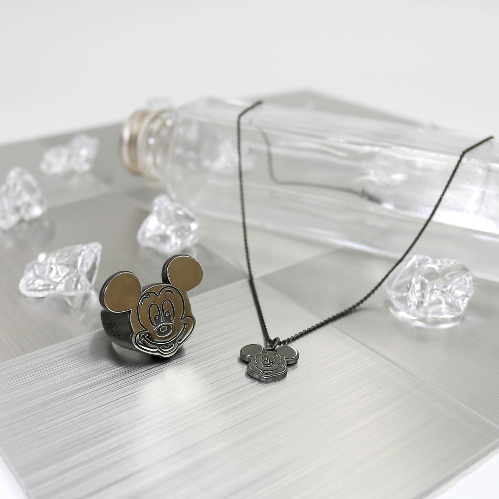 MICKEY MOUSE STAMP FACE RING15号【受注商品】