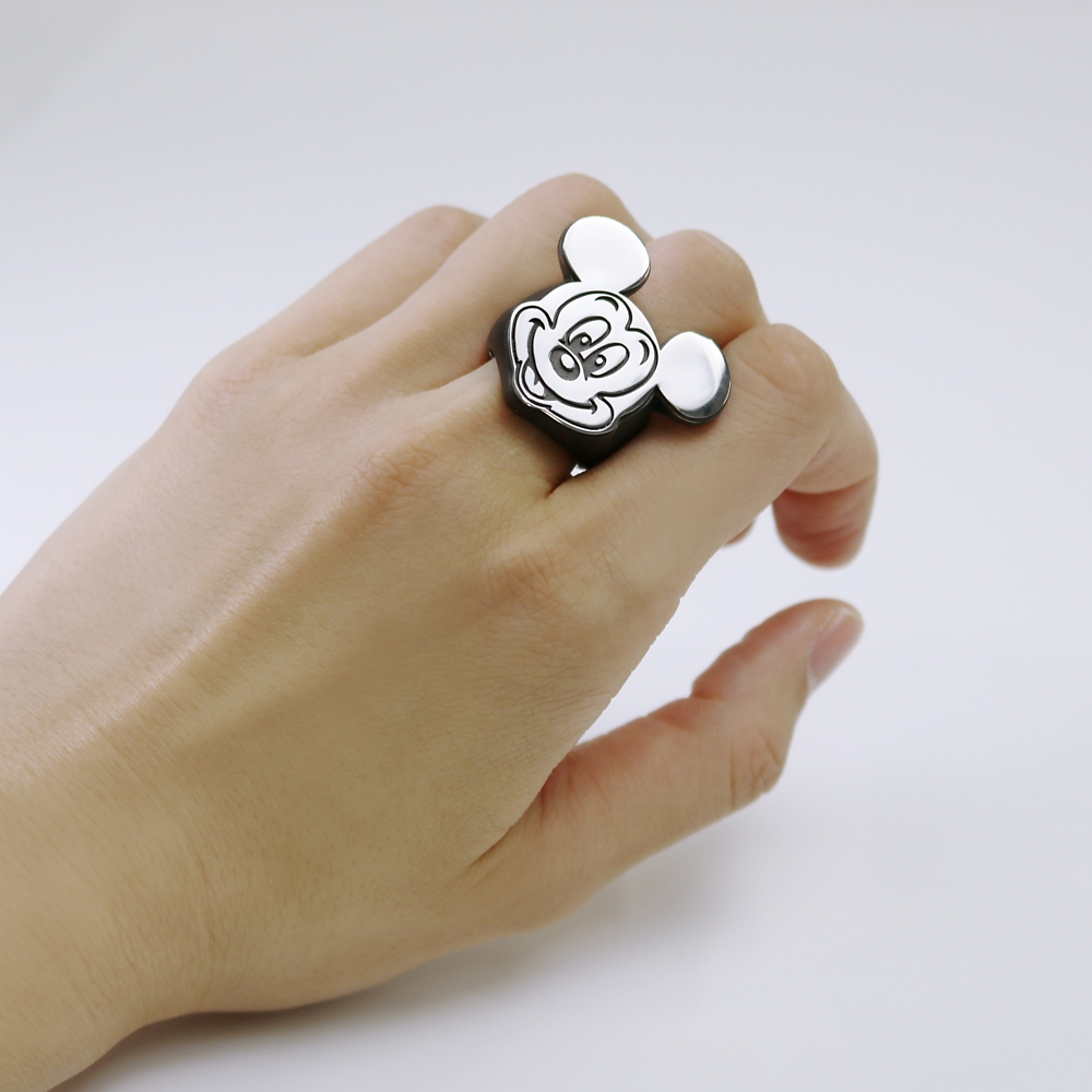 MICKEY MOUSE STAMP FACE RING23号【受注商品】
