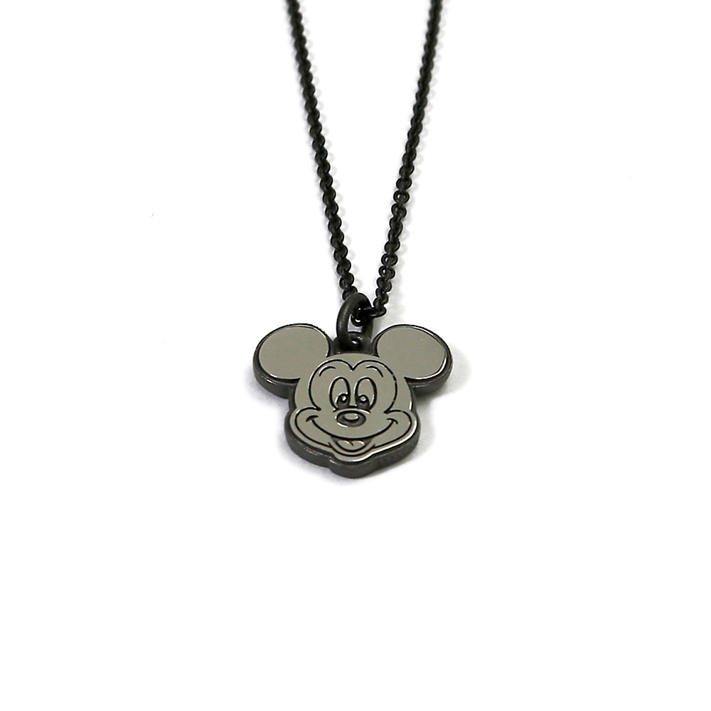 MICKEY MOUSE STAMP FACE NECKLACE 【受注商品】