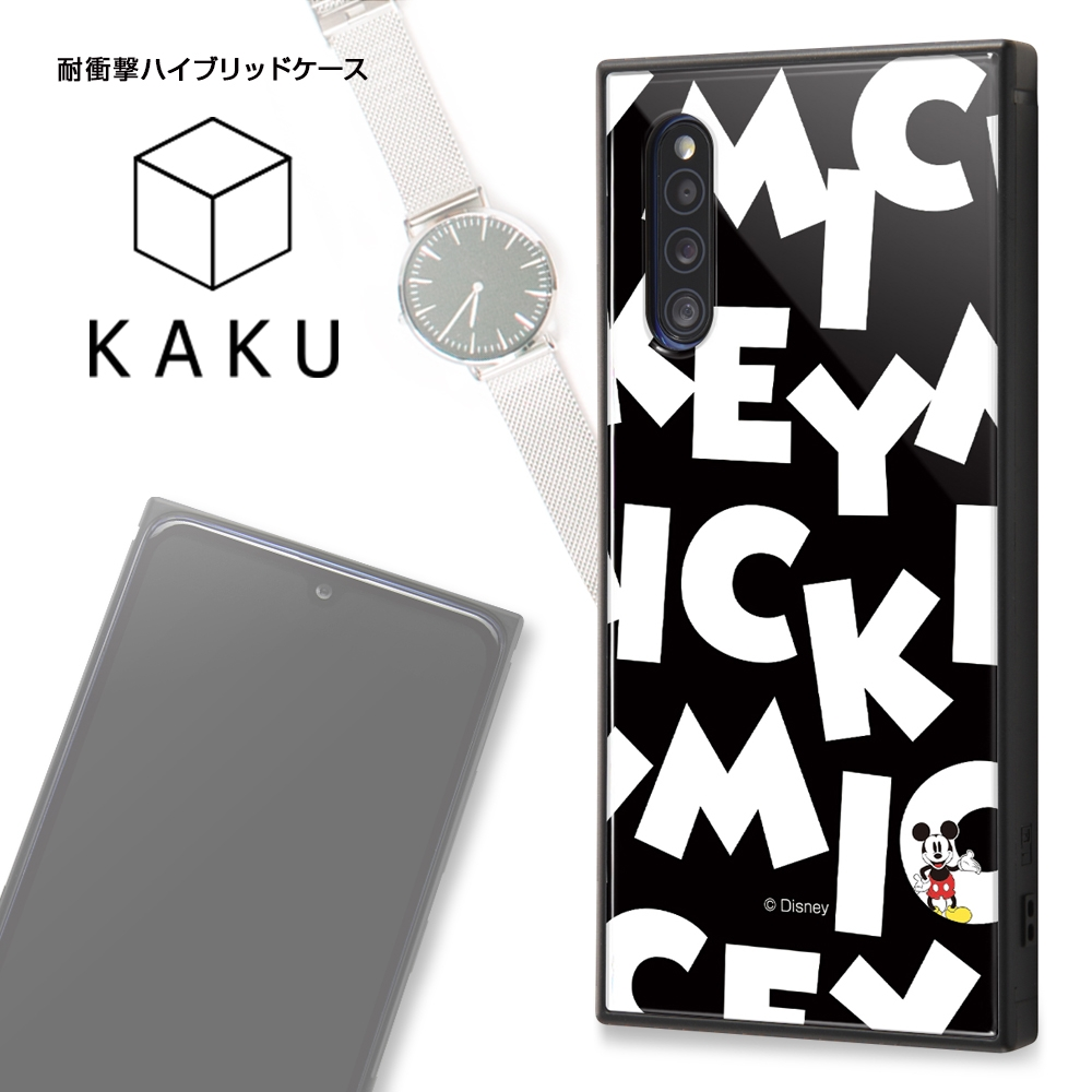 Galaxy A41 /『ディズニーキャラクター』/耐衝撃ハイブリッドケース KAKU/『ミニーマウス/I AM』【受注生産】