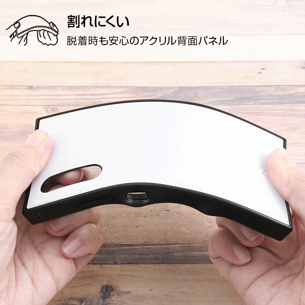Galaxy A41 /『ディズニーキャラクター』/耐衝撃ハイブリッドケース KAKU/『ミニーマウス/OTONA BLACK』【受注生産】