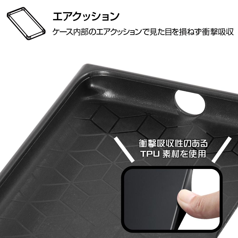 Galaxy A41 /『くまのプーさん』/耐衝撃ハイブリッドケース KAKU/『くまのプーさん/ボタニカル』_01【受注生産】