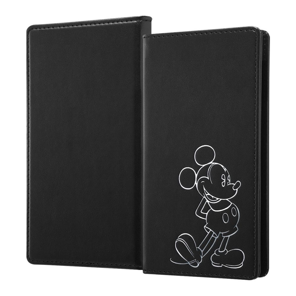 『ディズニーキャラクター』/汎用手帳型ケース FLEX Sサイズ ホットスタンプ/『ミッキーマウス』