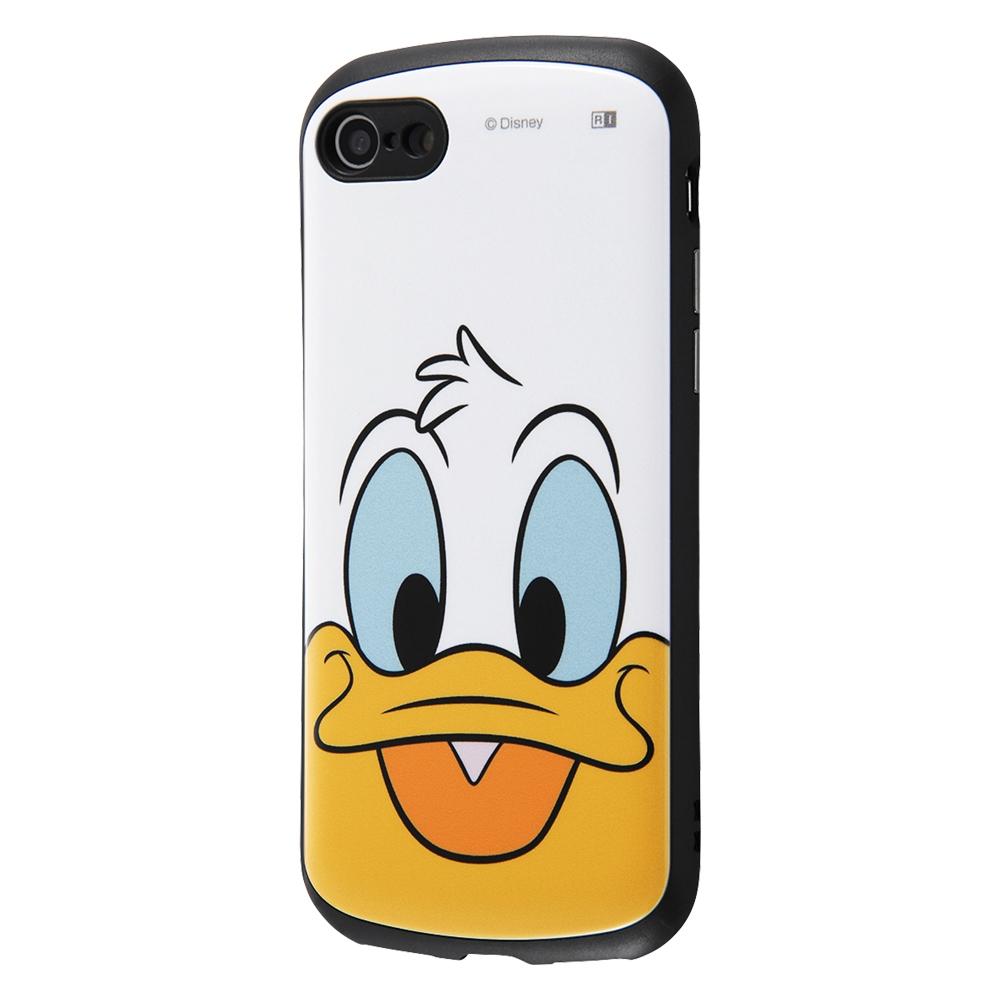 iPhone SE(第2世代)/8/7 『ディズニーキャラクター』/耐衝撃ケース MiA/『ドナルドダック/フェイスアップ』