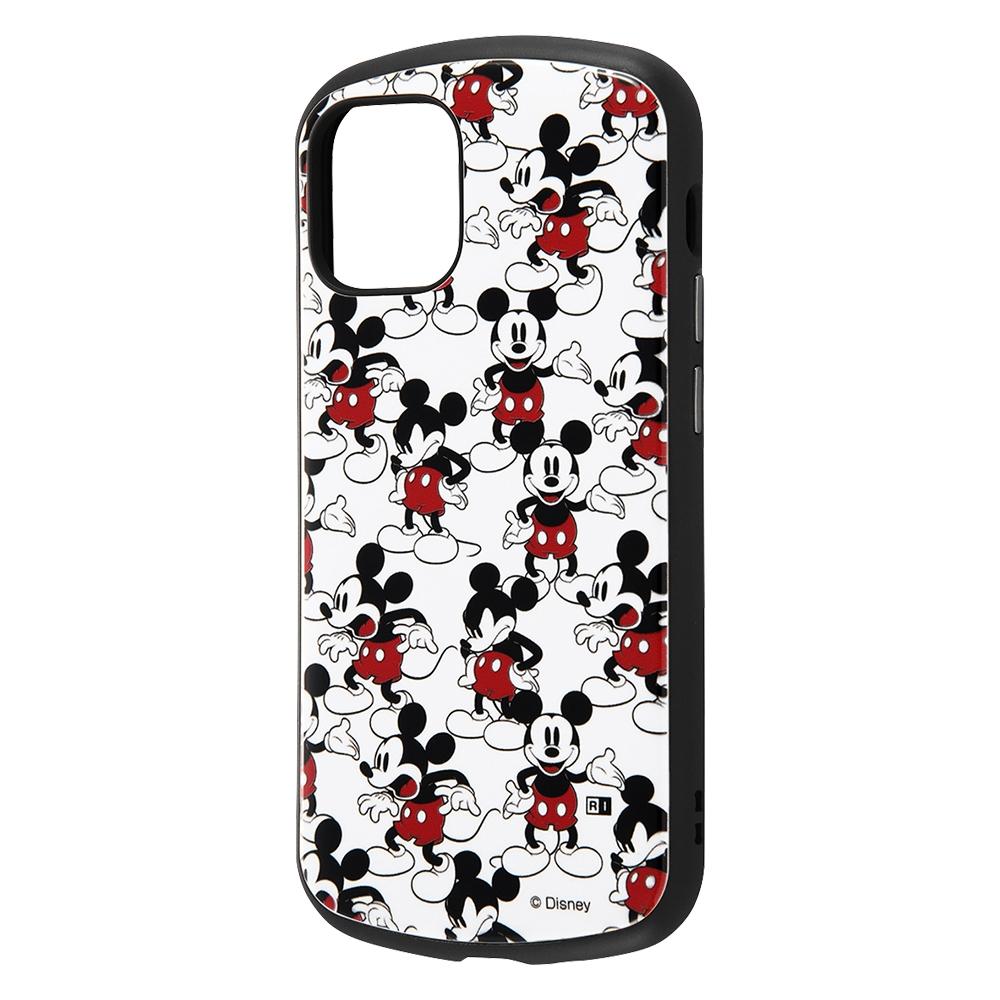 iPhone 12 mini 『ディズニーキャラクター』/耐衝撃ケース MiA/『ミッキーマウス/総柄』
