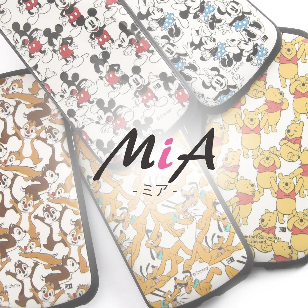iPhone 12 mini 『ディズニーキャラクター』/耐衝撃ケース MiA/『ミニーマウス/総柄』