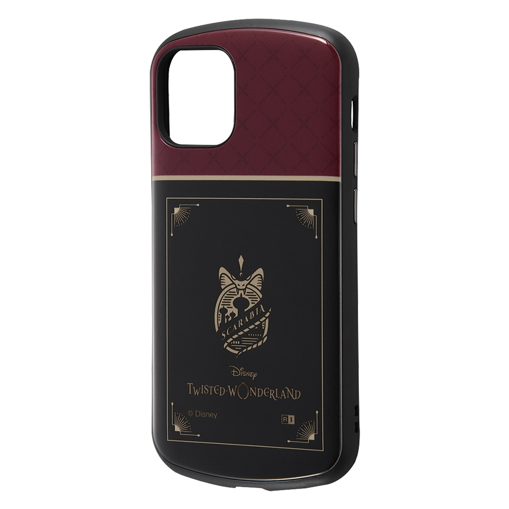 iPhone 12 mini 『ツイステッドワンダーランド』/耐衝撃ケース MiA/『ツイステッドワンダーランド/スカラビア寮』