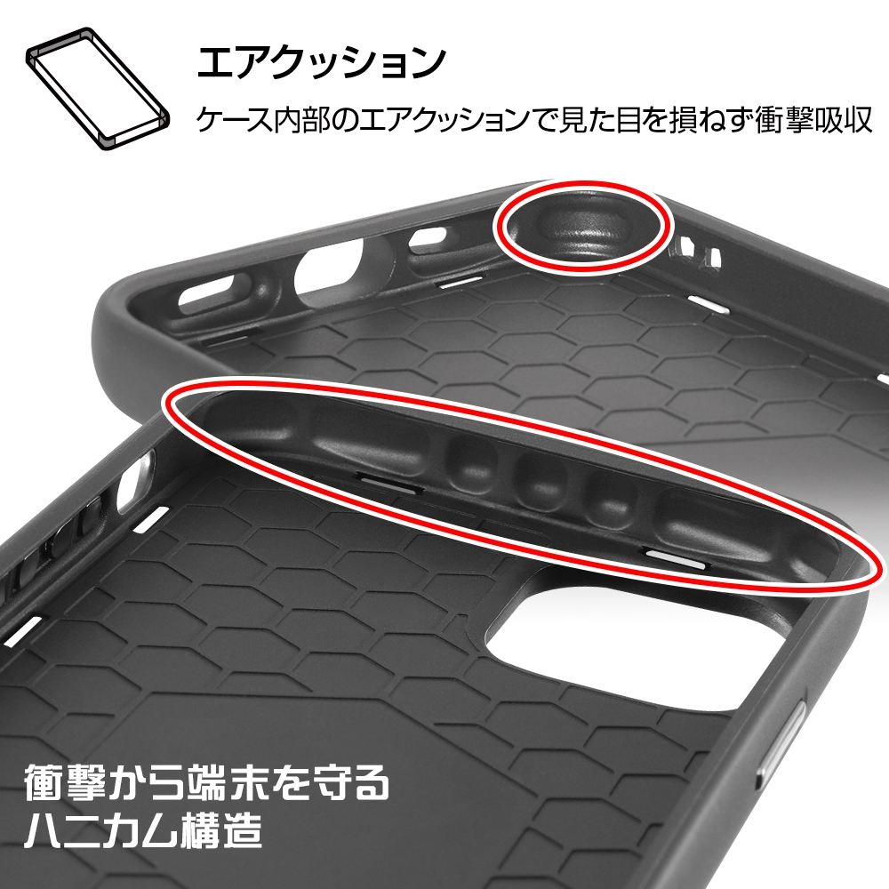iPhone 12 / 12 Pro 『ディズニーキャラクター』/耐衝撃ケース MiA/『チップ&デール/総柄』