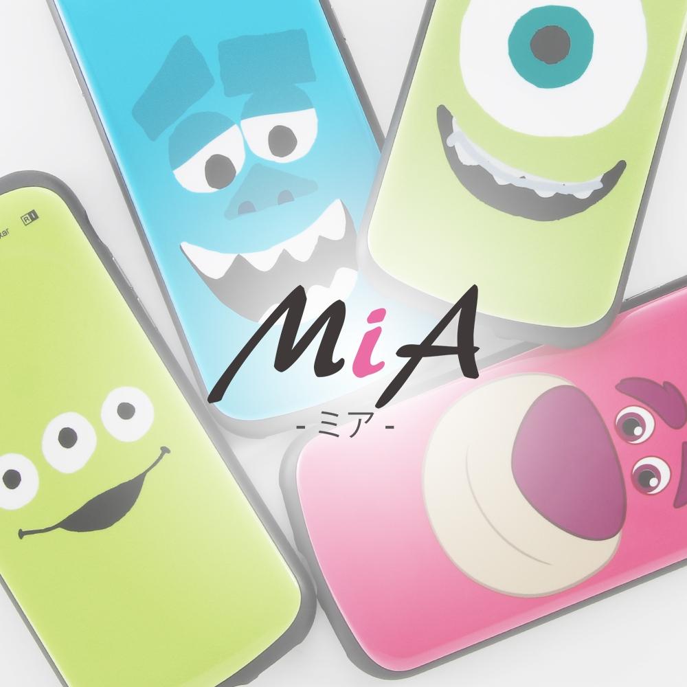 iPhone 12 / 12 Pro 『ディズニー・ピクサーキャラクター』/耐衝撃ケース MiA/『マイク/フェイスアップ』