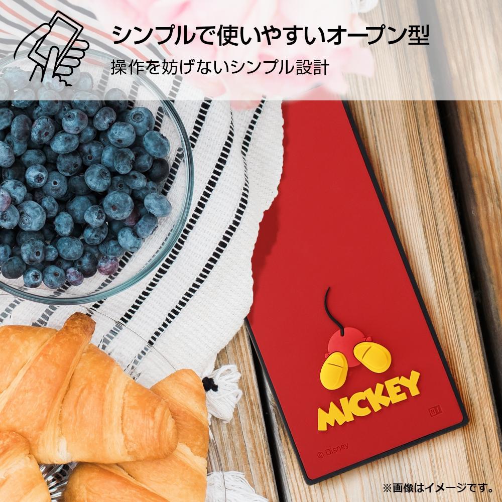 iPhone 12 / 12 Pro 『ディズニーキャラクター』/耐衝撃ハイブリッドケース シリコン KAKU/『ミッキーマウス』