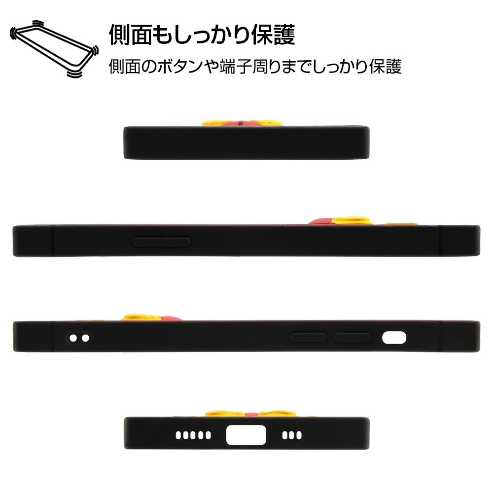 iPhone 12 / 12 Pro 『ディズニーキャラクター』/耐衝撃ハイブリッドケース シリコン KAKU/『プー』