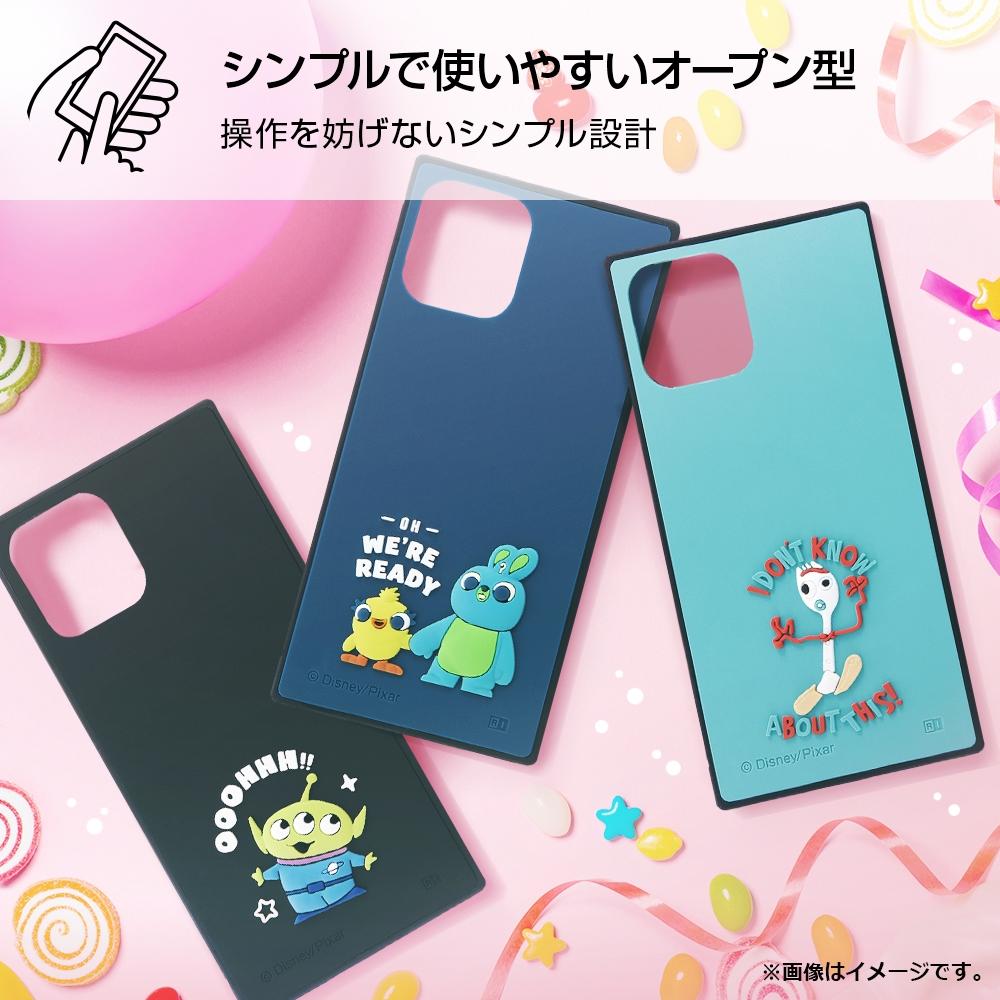 iPhone 12 / 12 Pro 『ディズニー・ピクサーキャラクター』/耐衝撃ハイブリッドケース シリコン KAKU/ 『トイ・ストーリー/エイリアン』