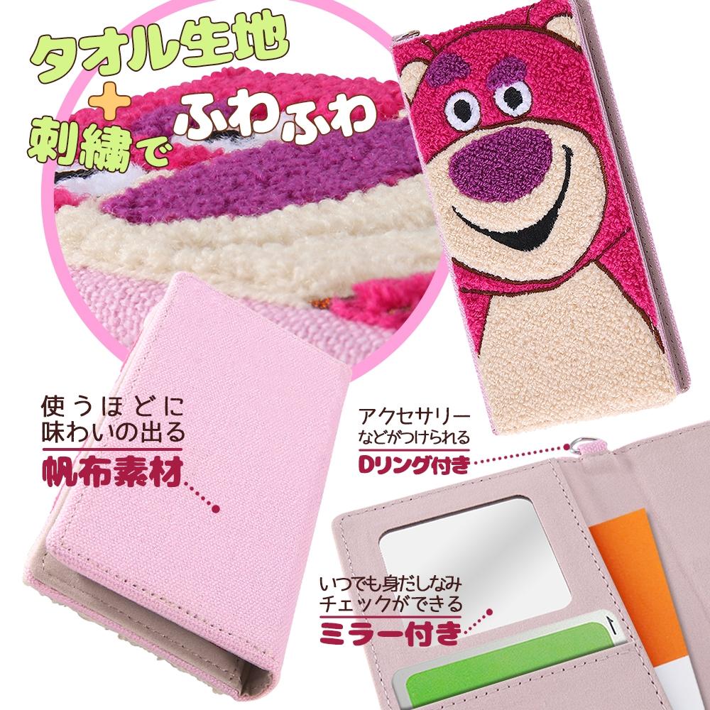 iPhone 12 / 12 Pro 『ディズニー・ピクサーキャラクター』/手帳型 FLEX CASE サガラ刺繍/『トイ・ストーリー/ロッツォ』