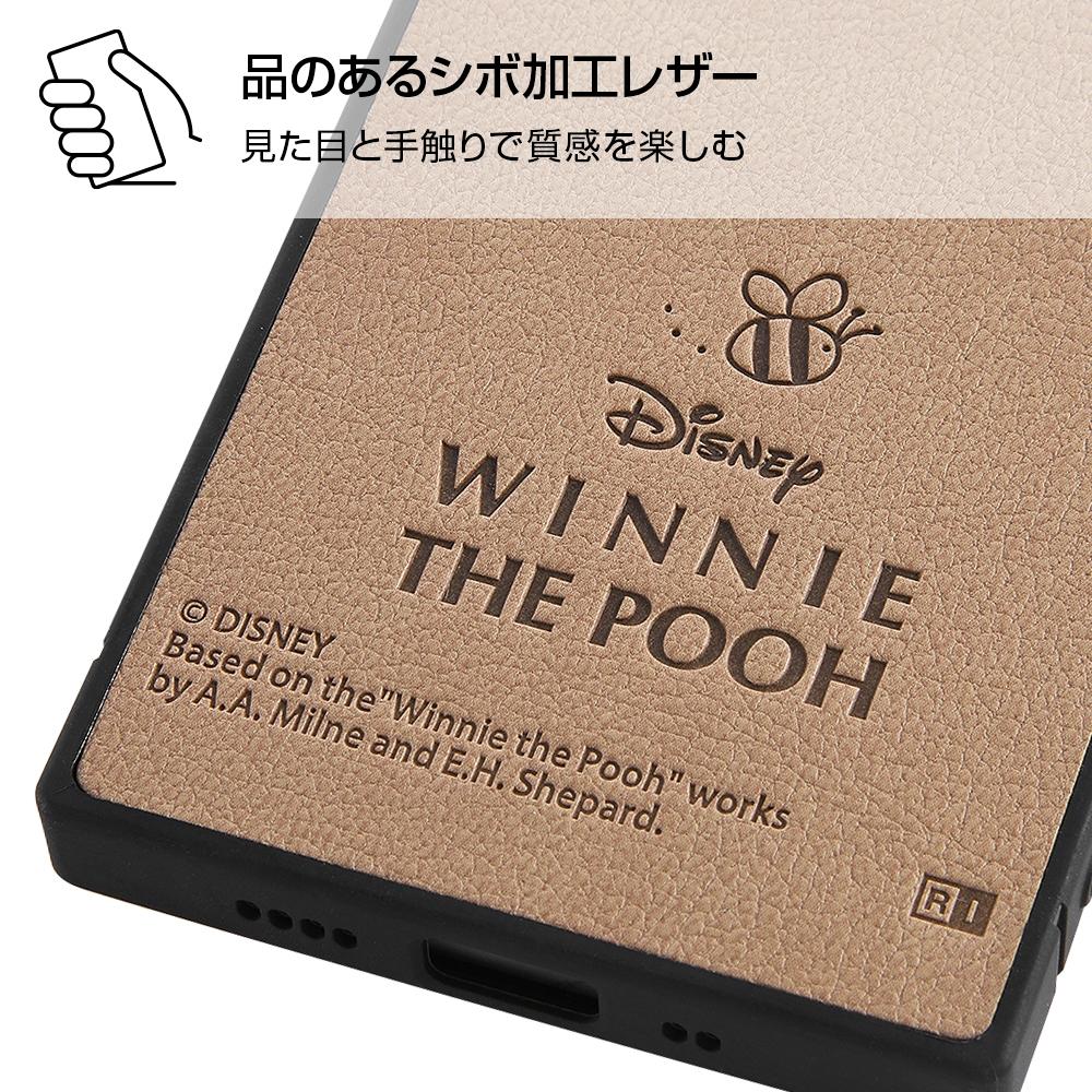 iPhone 12 mini 『ディズニーキャラクター』/耐衝撃オープンレザーケース KAKU/『ミニーマウス』
