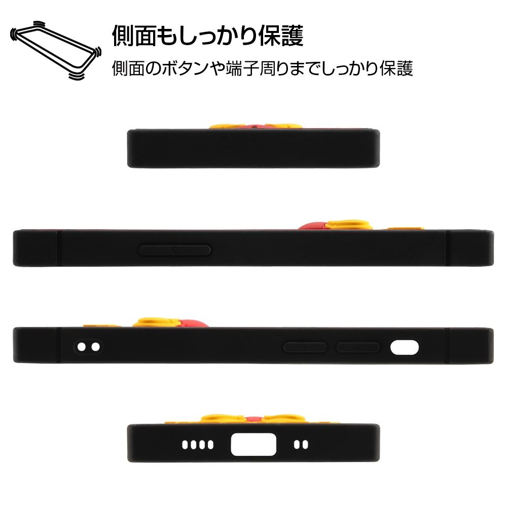 iPhone 12 mini 『ディズニーキャラクター』/耐衝撃ハイブリッドケース シリコン KAKU/『ミニーマウス』