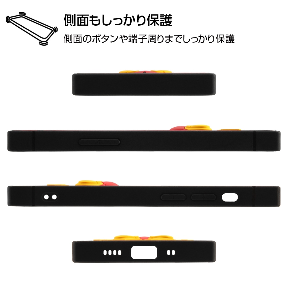 iPhone 12 mini 『ディズニーキャラクター』/耐衝撃ハイブリッドケース シリコン KAKU/『ドナルドダック』