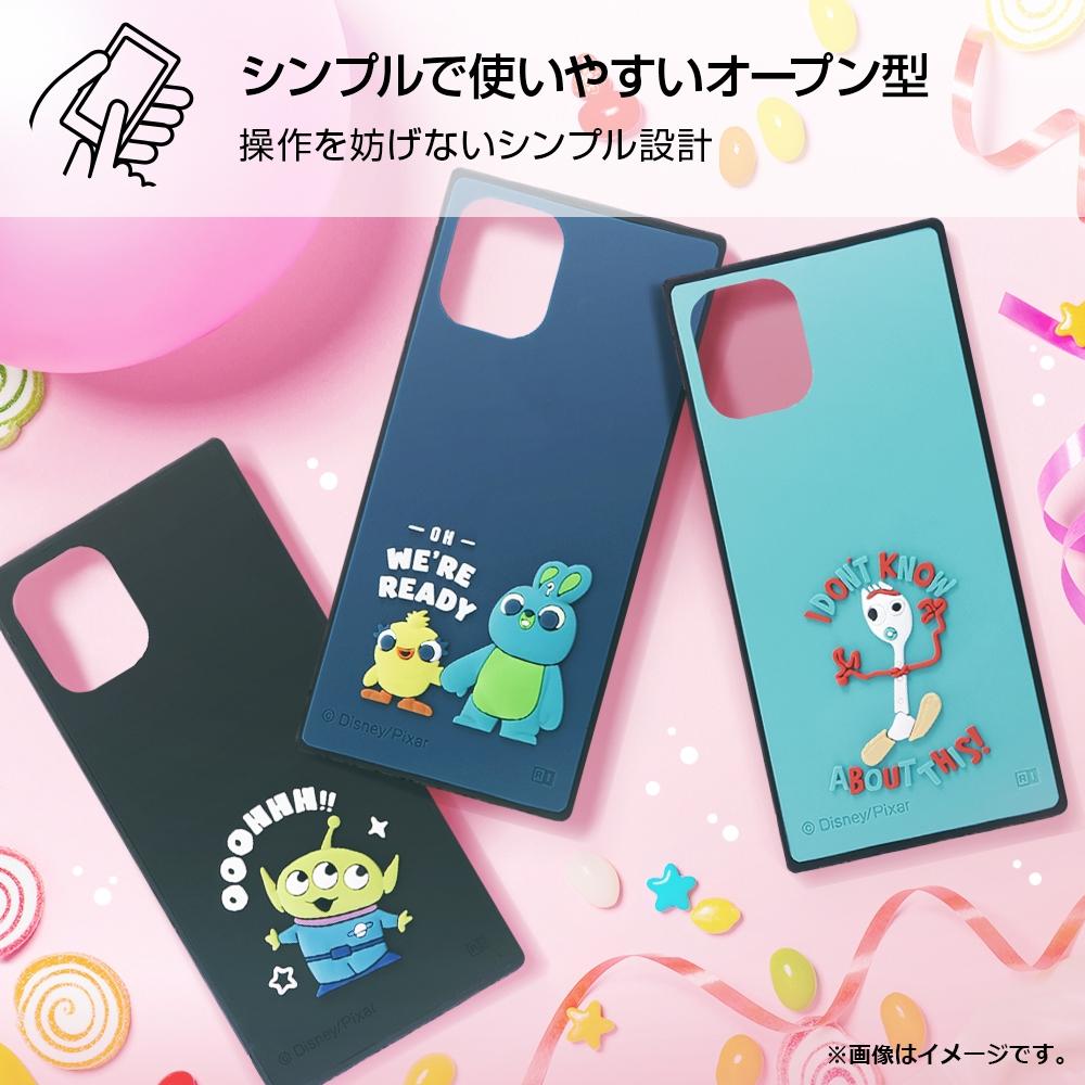 iPhone 12 mini 『ディズニー・ピクサーキャラクター』/耐衝撃ハイブリッドケース シリコン KAKU/ 『トイ・ストーリー/フォーキー』
