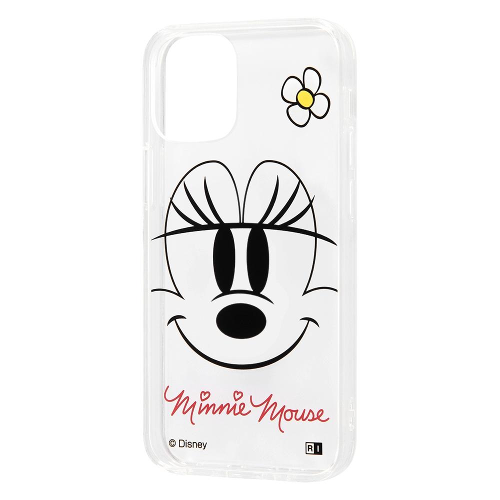 iPhone 12 mini 『ディズニーキャラクター』/ハイブリッドケース Clear Pop/『ミニーマウス』
