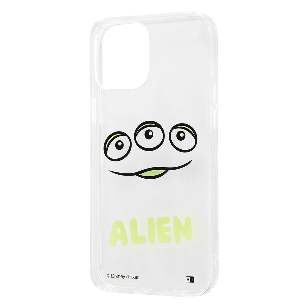 iPhone 12 Pro Max 『ディズニー・ピクサーキャラクター』/ハイブリッドケース Clear Pop/『エイリアン』