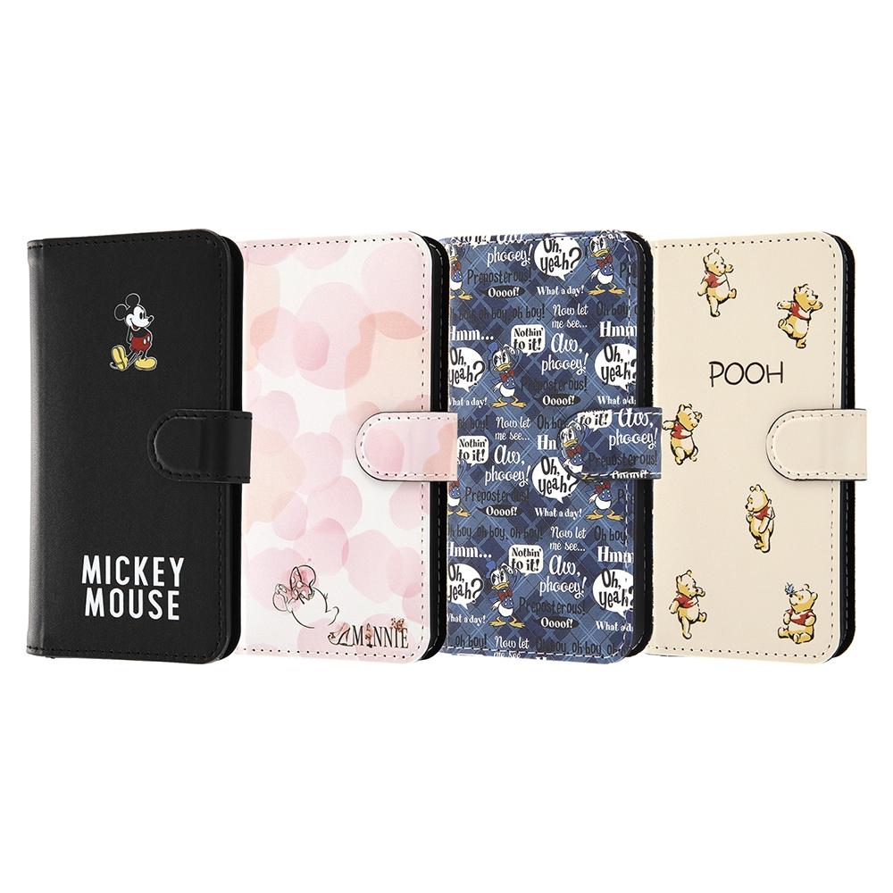 iPhone 12 mini 『ディズニーキャラクター』/耐衝撃 手帳型アートケース マグネット/『ミニーマウス_016』