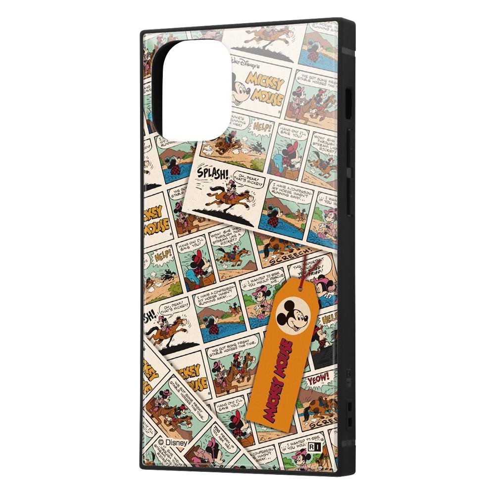 iPhone 12 mini /『ディズニーキャラクター』/耐衝撃ハイブリッドケース KAKU/『ミッキーマウス/comic』【受注生産】
