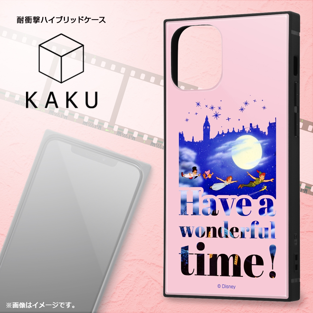 iPhone 12 mini /『ディズニーキャラクター』/耐衝撃ハイブリッドケース KAKU/『ふしぎの国のアリス/Famous scene』【受注生産】