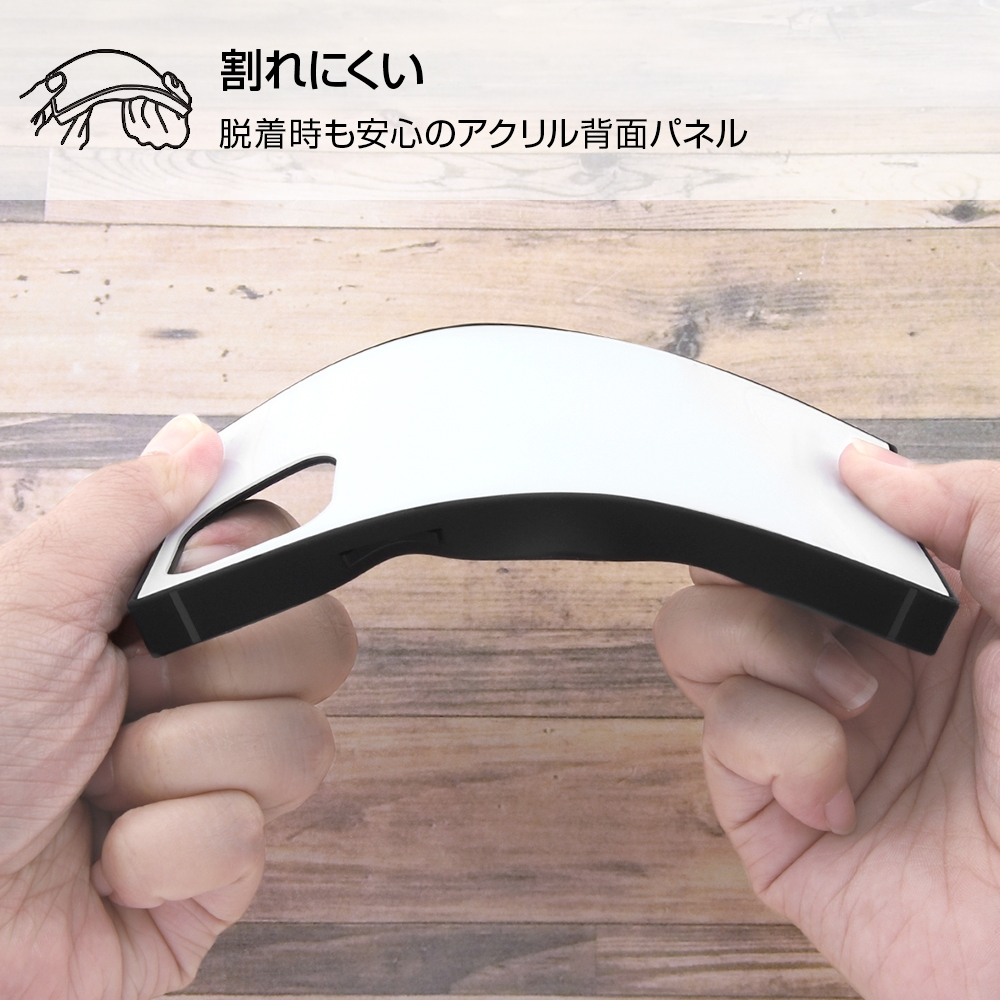 iPhone 12 mini /『ディズニーキャラクター』/耐衝撃ハイブリッドケース KAKU/『バンビ/Clapperboard』【受注生産】