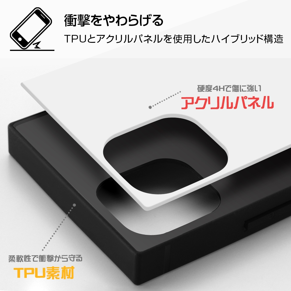 iPhone 12 mini /『ディズニーキャラクター』/耐衝撃ハイブリッドケース KAKU/『くまのプーさん/ボタニカル』_04【受注生産】