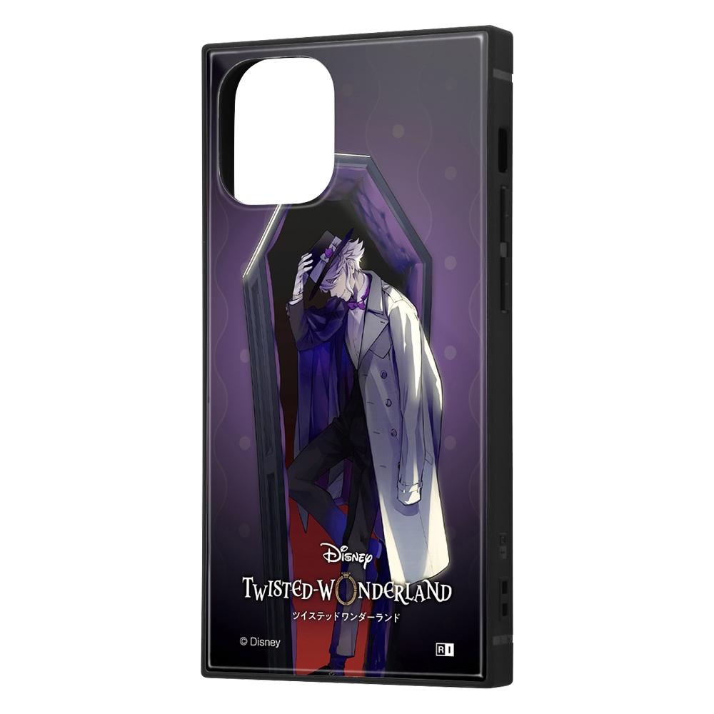 iPhone 12 mini /『ツイステッドワンダーランド』/耐衝撃ハイブリッドケース KAKU/『ツイステッドワンダーランド/アズール・アーシェングロット』【受注生産】