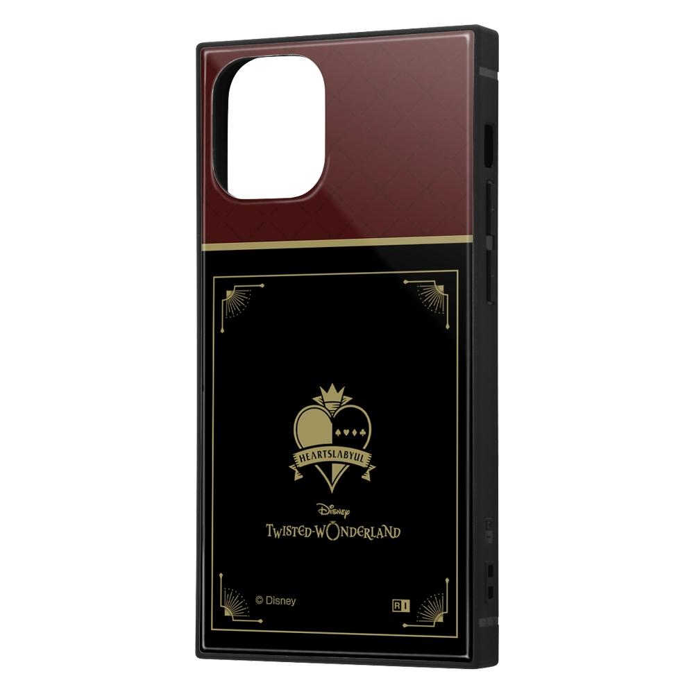 iPhone 12 mini /『ツイステッドワンダーランド』/耐衝撃ハイブリッドケース KAKU/『ツイステッドワンダーランド/ハーツラビュル寮』【受注生産】