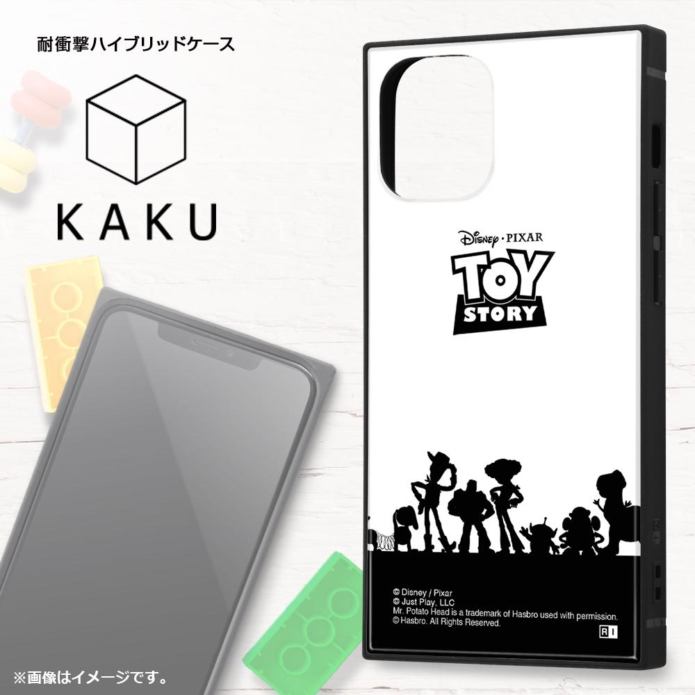 iPhone 12 mini /『ディズニー・ピクサーキャラクター』/耐衝撃ハイブリッドケース KAKU/『トイ・ストーリー/総柄』【受注生産】