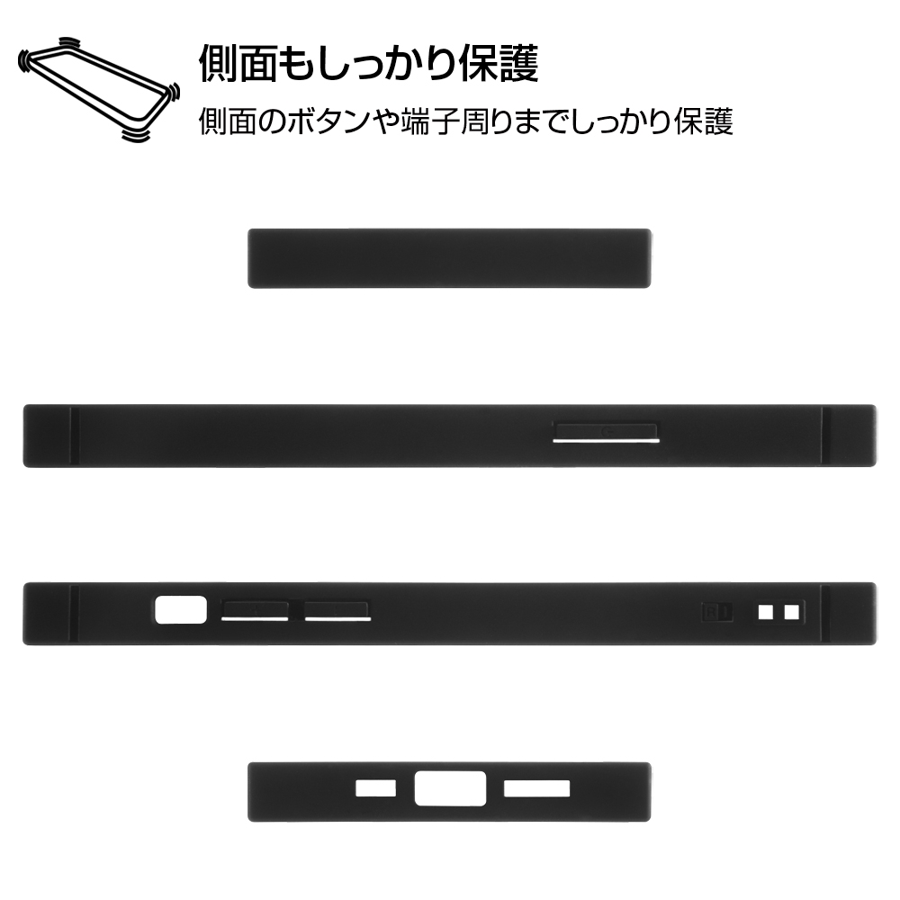 iPhone 12 / 12 Pro /『ディズニーキャラクター』/耐衝撃ハイブリッドケース KAKU/『ミッキーマウス/I AM』【受注生産】
