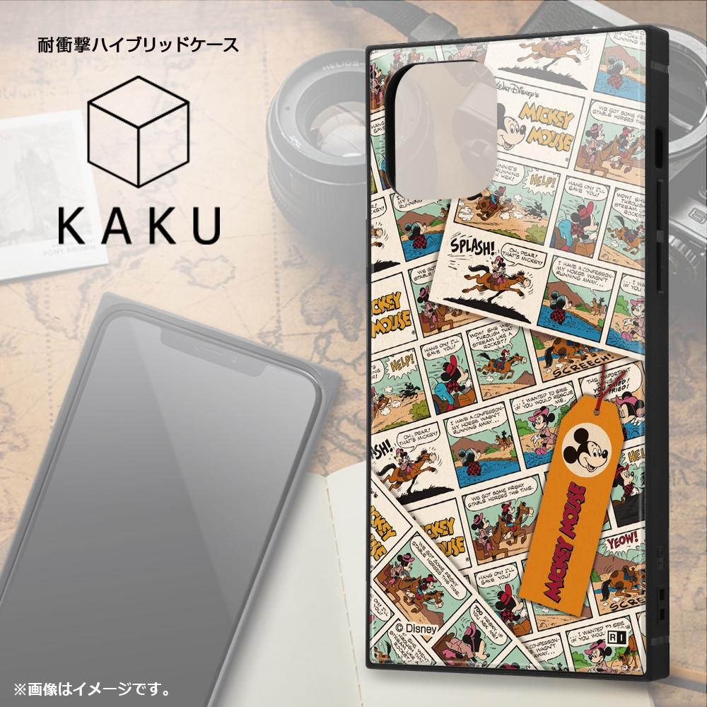 iPhone 12 / 12 Pro /『ディズニーキャラクター』/耐衝撃ハイブリッドケース KAKU/『ドナルドダック/comic』【受注生産】