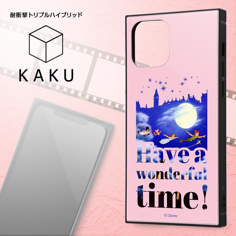 iPhone 12 / 12 Pro /『ディズニーキャラクター』/耐衝撃ハイブリッドケース KAKU/『ピーター・パン/Famous scene』【受注生産】