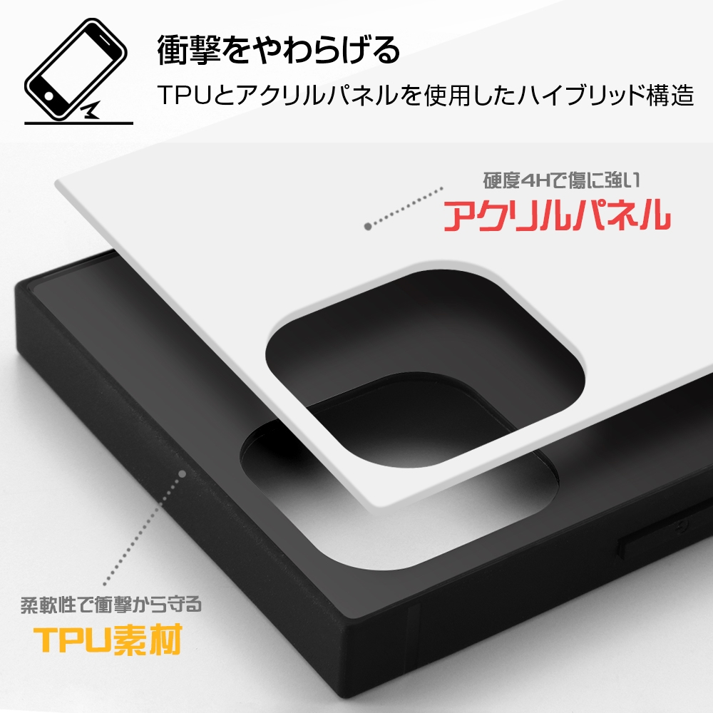 iPhone 12 / 12 Pro /『ディズニーキャラクター』/耐衝撃ハイブリッドケース KAKU/『リロ&スティッチ/落書き』【受注生産】