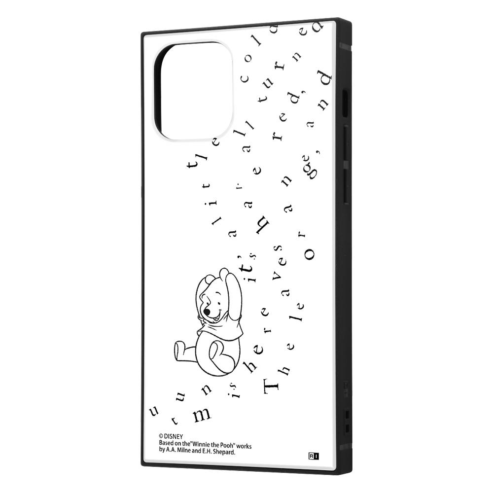 iPhone 12 / 12 Pro /『ディズニーキャラクター』/耐衝撃ハイブリッドケース KAKU/『くまのプーさん/philosophy』【受注生産】