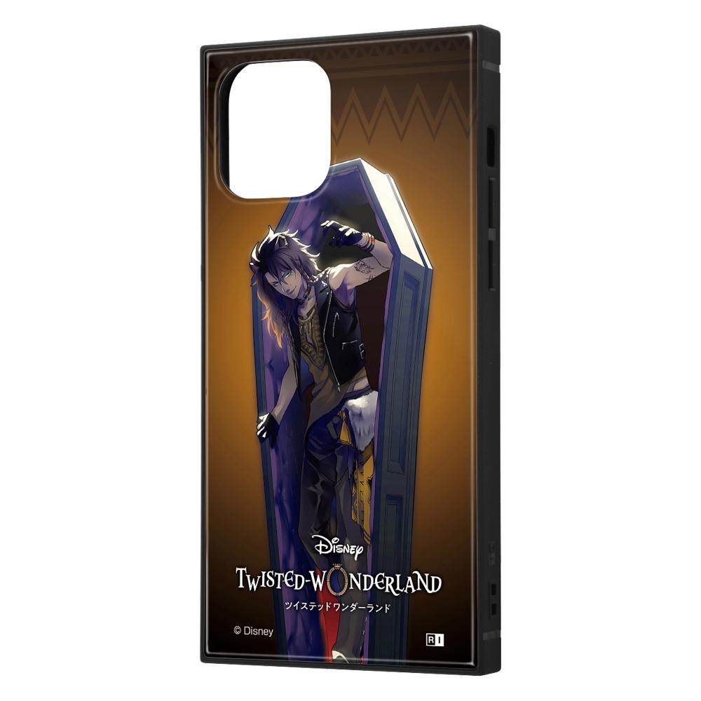 iPhone 12 / 12 Pro /『ツイステッドワンダーランド』/耐衝撃ハイブリッドケース KAKU/『ツイステッドワンダーランド/レオナ・キングスカラー』【受注生産】