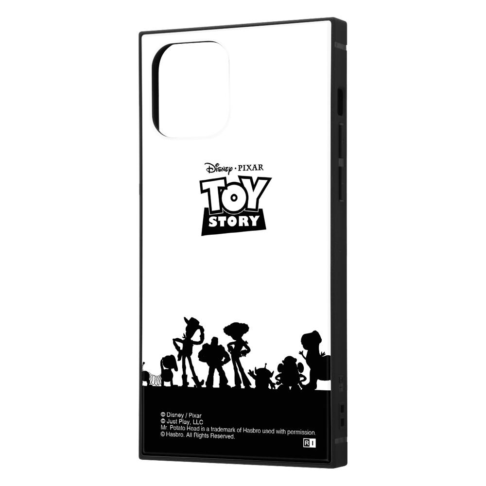 iPhone 12 / 12 Pro /『ディズニー・ピクサーキャラクター』/耐衝撃ハイブリッドケース KAKU/『トイ・ストーリー/シルエット』【受注生産】
