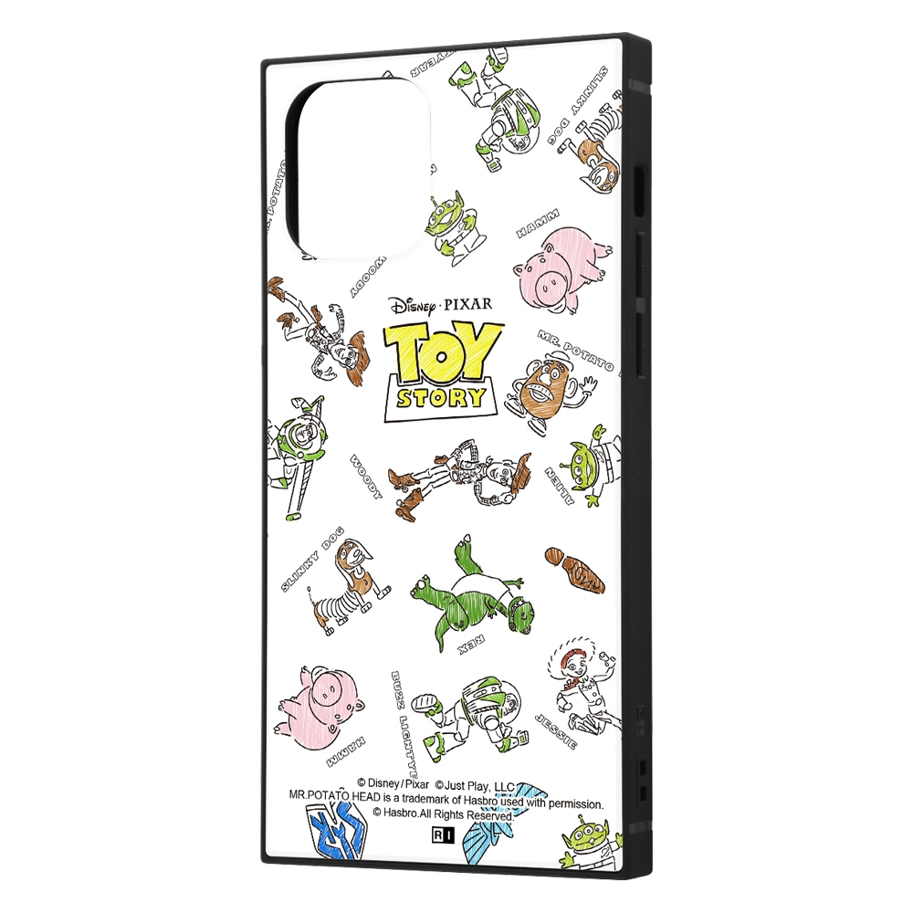 iPhone 12 / 12 Pro /『ディズニー・ピクサーキャラクター』/耐衝撃ハイブリッドケース KAKU/『トイ・ストーリー/総柄』【受注生産】