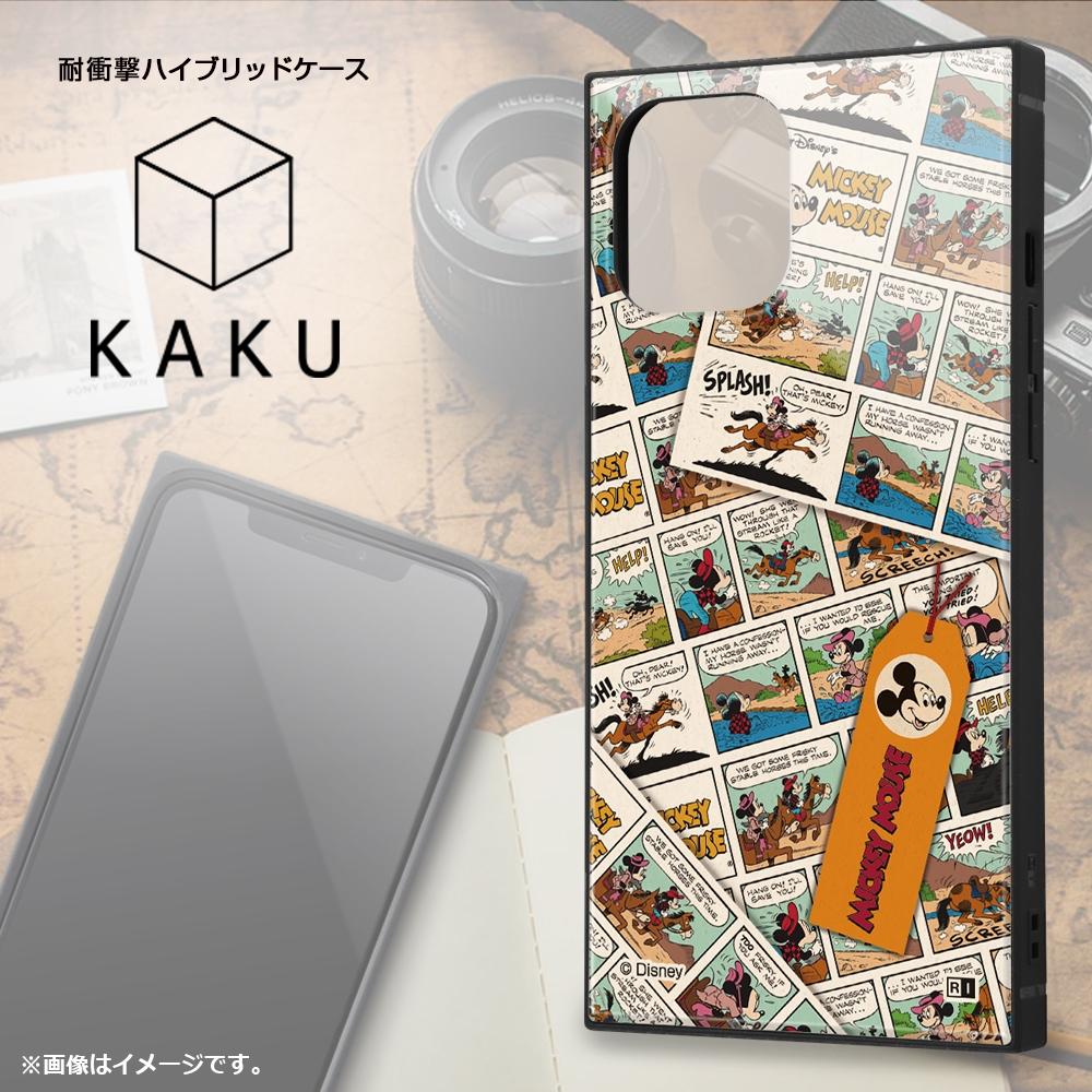iPhone 12 Pro Max /『ディズニーキャラクター』/耐衝撃ハイブリッドケース KAKU/『ミニーマウス/comic』【受注生産】