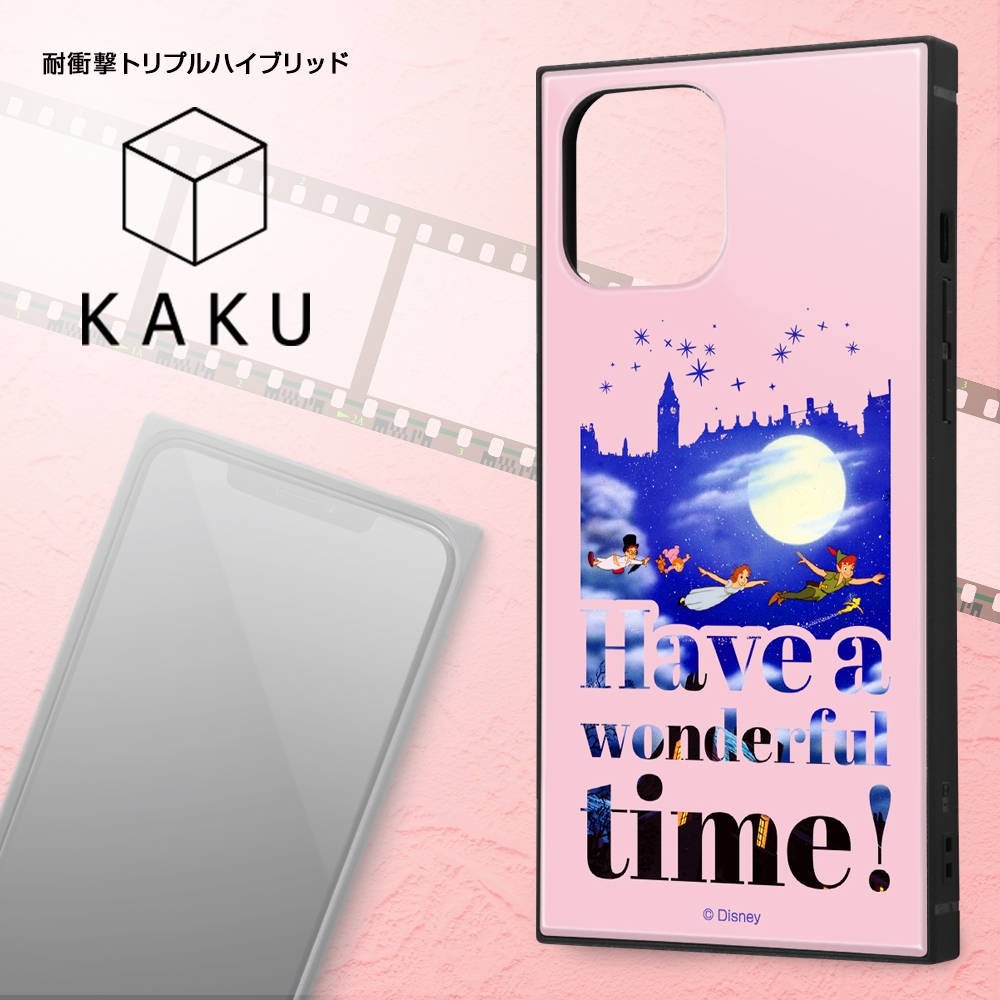 iPhone 12 Pro Max /『ディズニーキャラクター』/耐衝撃ハイブリッドケース KAKU/『わんわん物語/Famous scene』【受注生産】