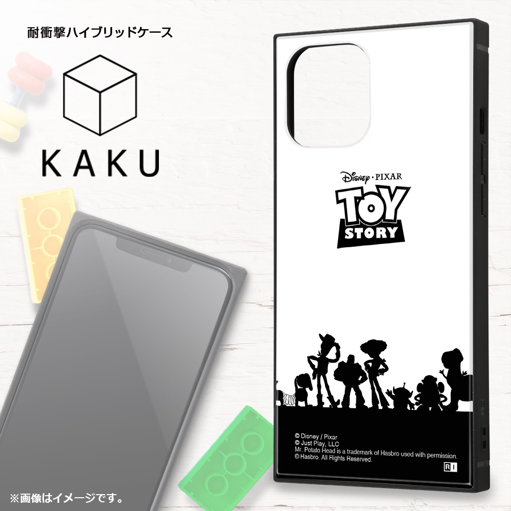iPhone 12 Pro Max /『ディズニー・ピクサーキャラクター』/耐衝撃ハイブリッドケース KAKU/『トイ・ストーリー/総柄』【受注生産】