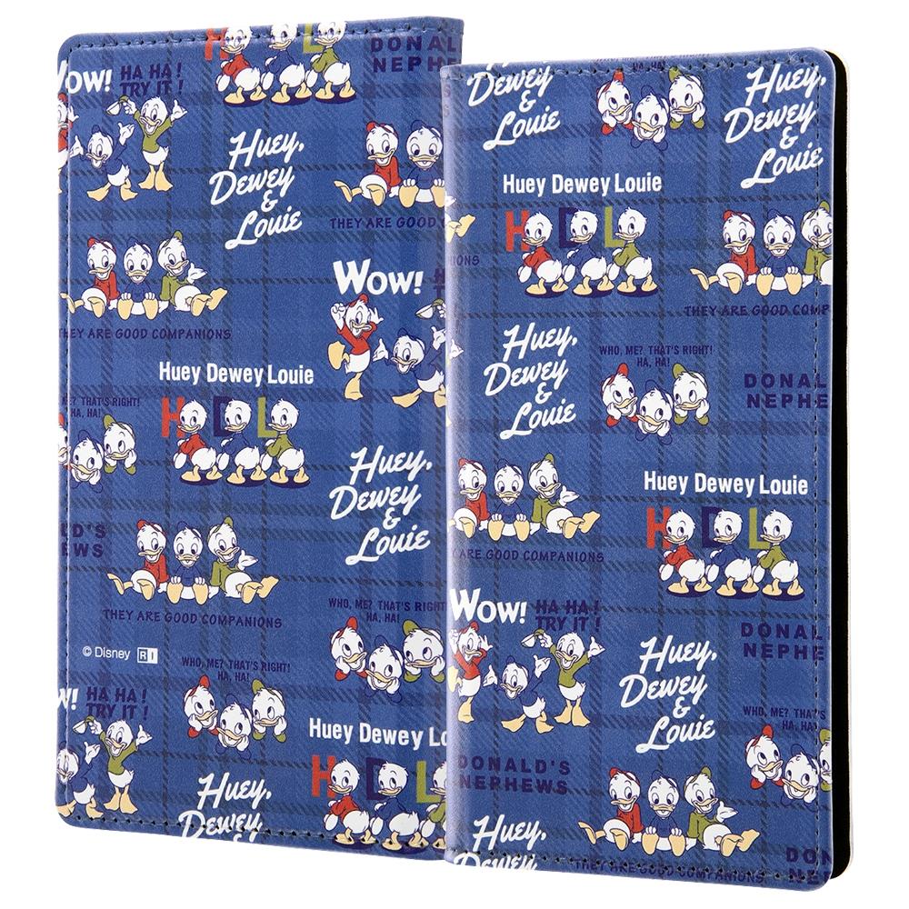 汎用『ディズニーキャラクター』/手帳型ケース FLEX L/『ミッキーマウスフレンズ/総柄』_02【受注生産】