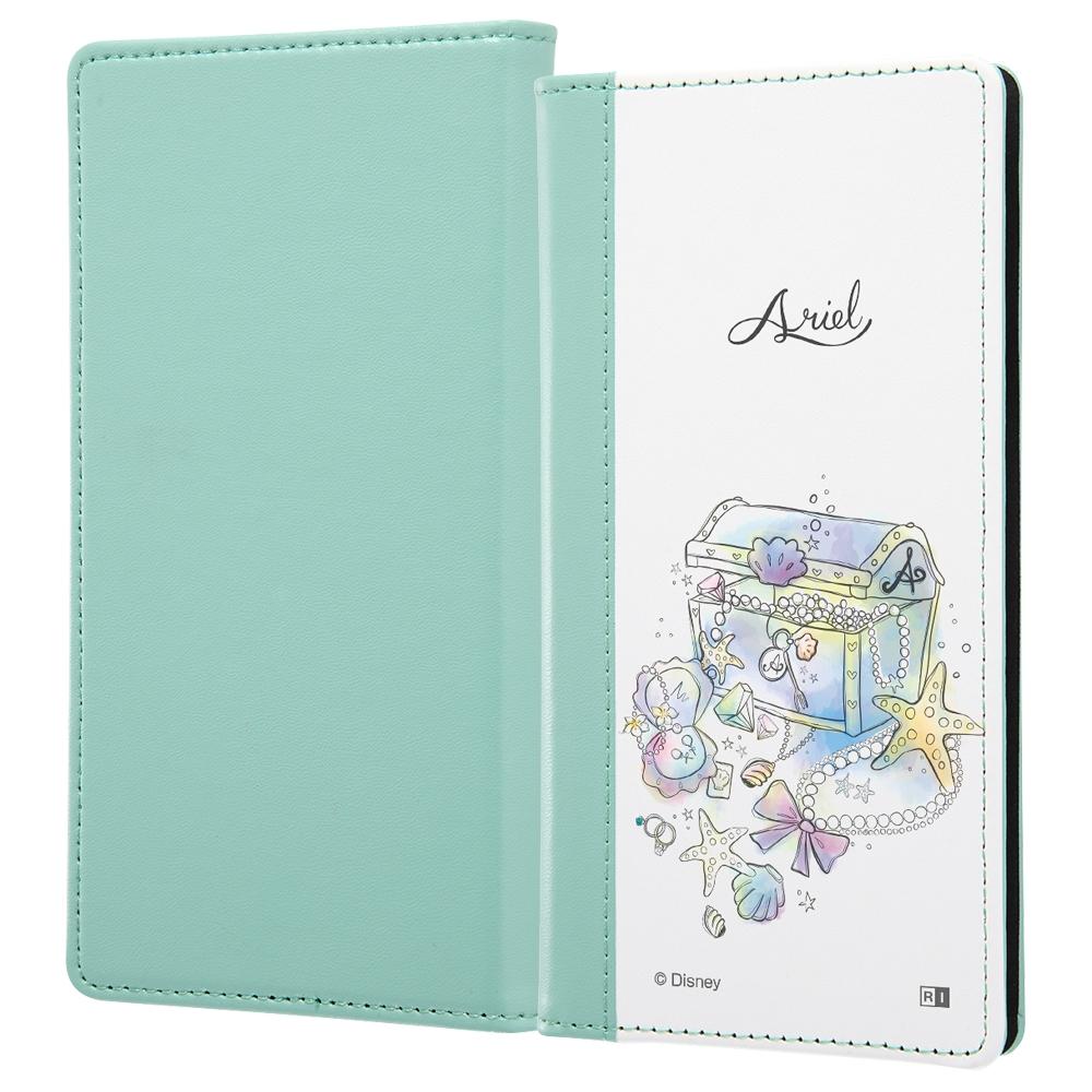 汎用『ディズニーキャラクター OTONA』/手帳型ケース FLEX バイカラー01 L/『アリエル/OTONA Princess』【受注生産】