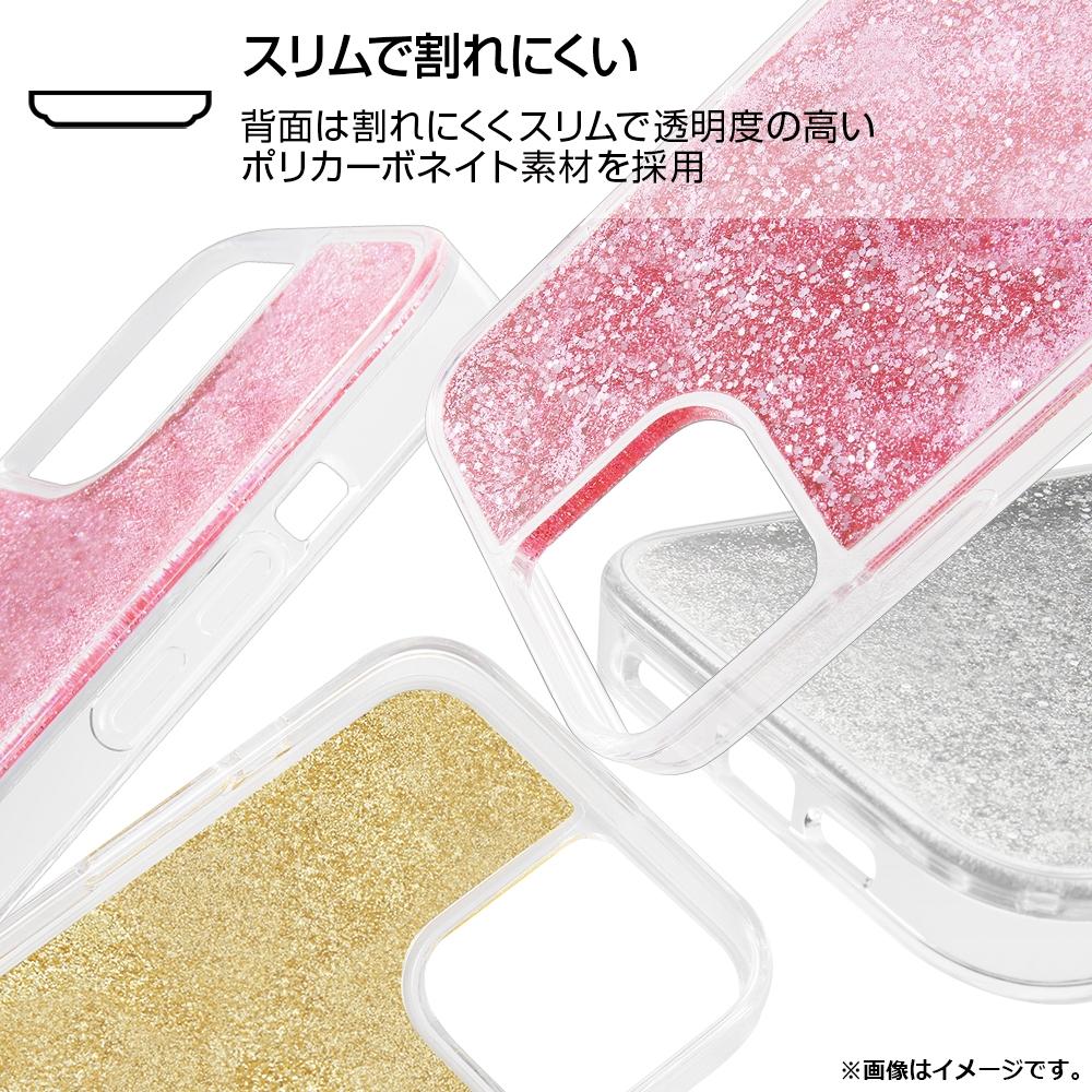 Phone 12 Pro/12 /『ディズニーキャラクター』/ラメ グリッターケース/『リトル・マーメイド/spark joy』【受注生産】